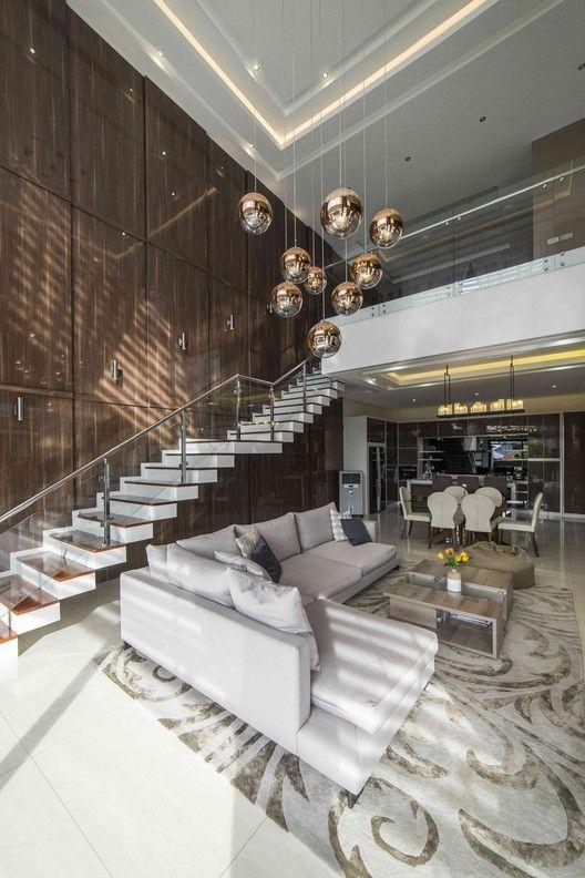 Gallery Of Pedongkelan Yn House Hyja 28 Best Modern House Design Luxury Living Room Design Living Room Decor Modern