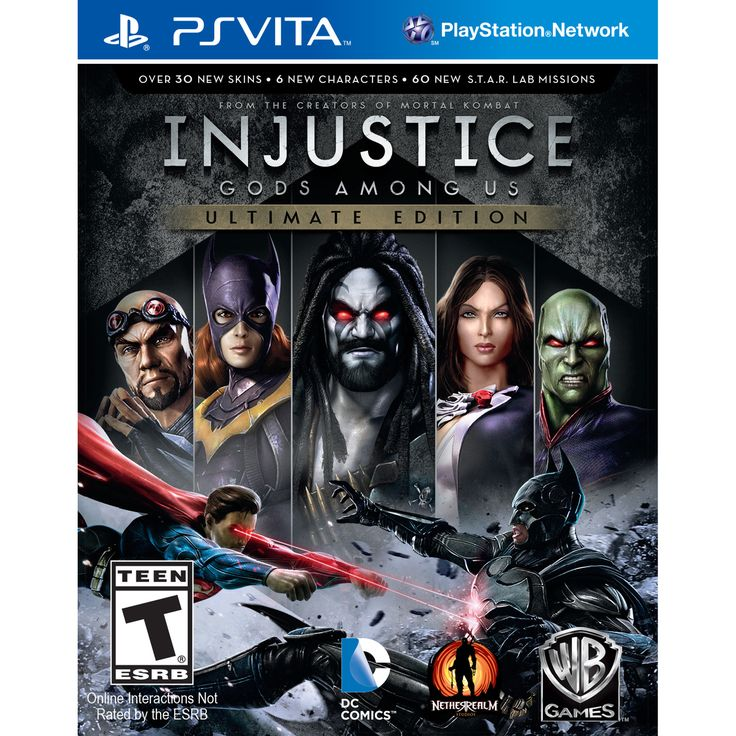PS Vita - Injustice: Ultimate Edition