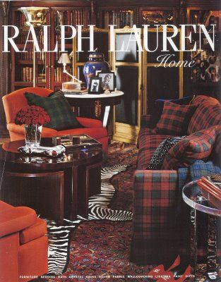 Color Outside the Lines: TUESDAY: Inspiring Spaces by Ralph Lauren Home PLUS some news...