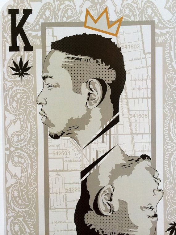 King Kendrick Lamar Player Card Digital Art by taylorlindgrenart