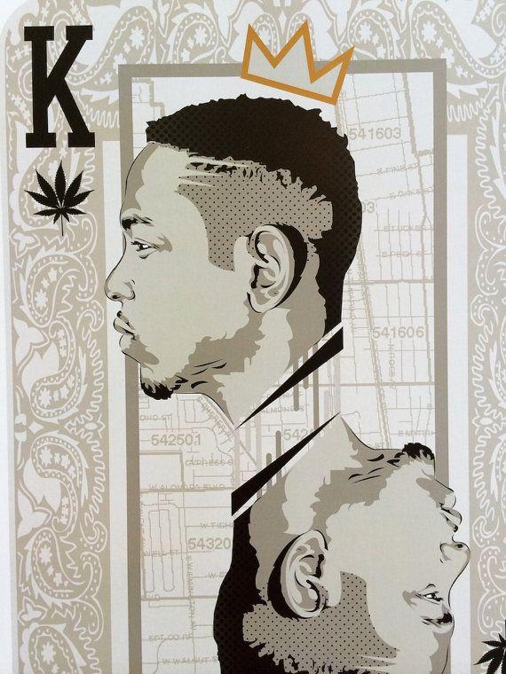 King Kendrick Lamar Player Card Digital Art by taylorlindgrenart