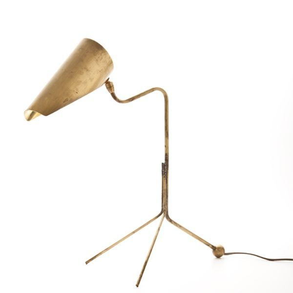 Fountainhead Desk Lamp - ELLEDecor.com (price upon request)