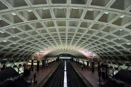 L'Enfant Plaza metro station. Image © Flickr CC User Brad Clinesmith