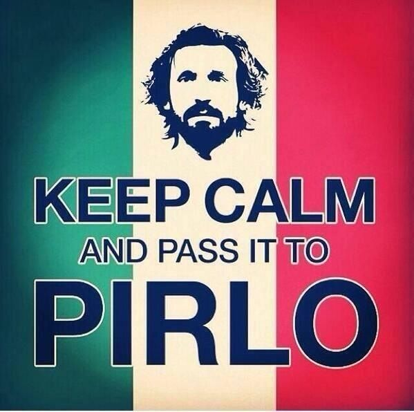 Keep Calm, Andrea Pirlo, The Artist! Italy, FIFA World Cup Brazil 2014