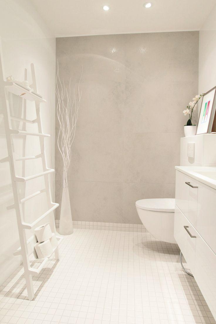 Rauhallinen ja vaalea vessa, laatat ABL-laatat