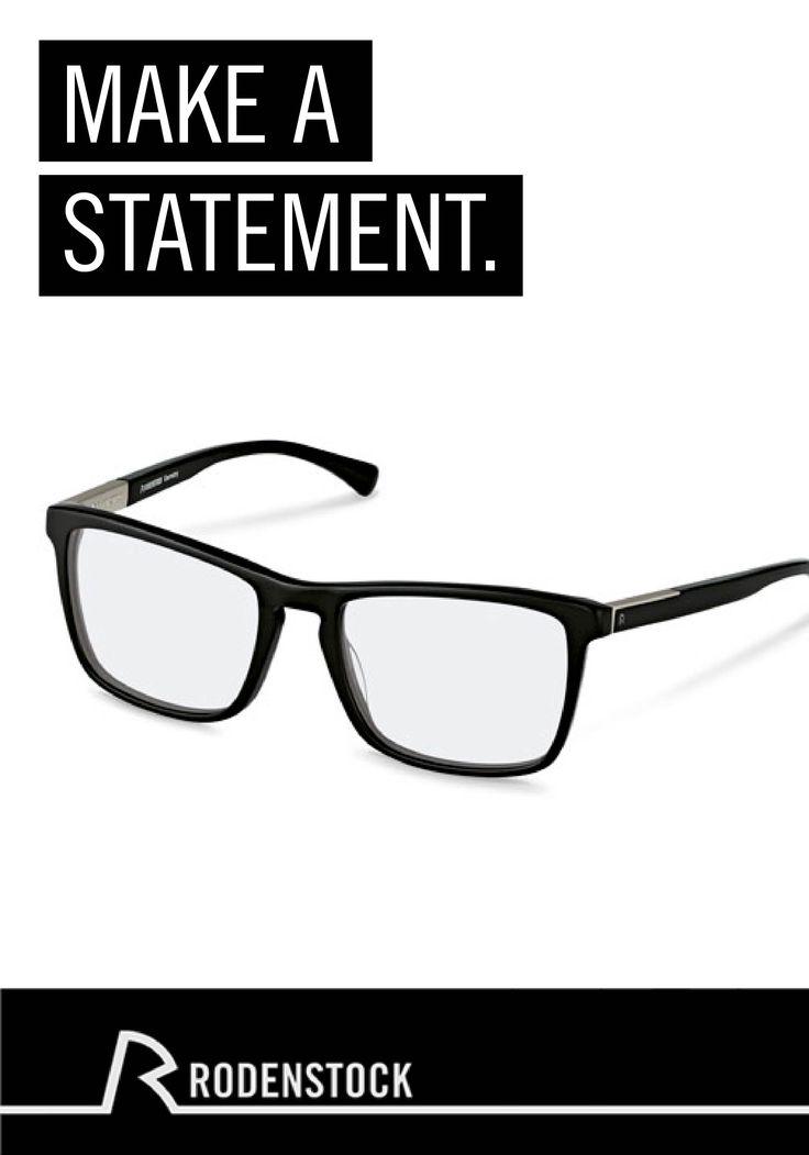 Diese minimalistischen Rodenstock Brillen für den modernen Mann geben Ihrem Outfit den letzten Schliff. Dazu noch eine Casual Jeans und ein Hemd, und der Look ist perfekt.
