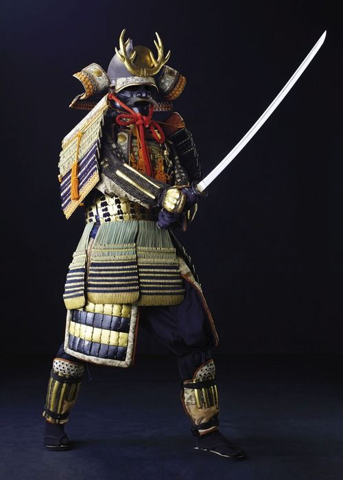 Samurai via tumblr