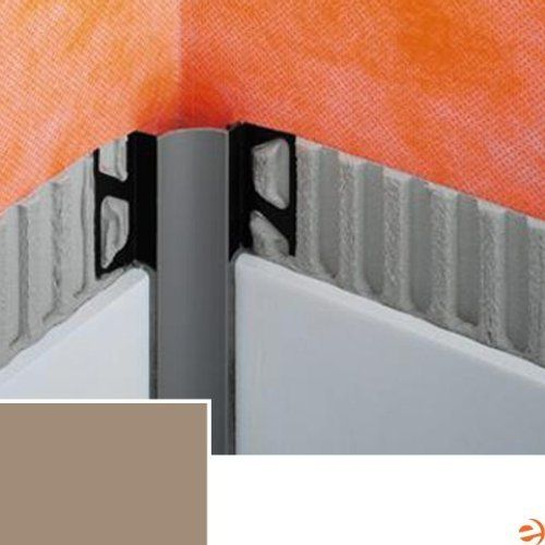 DILEX-HKW Cove-Shaped Inside Corner Profile 3-Way Inside Corner, Ligh by Schluter. $11.95. Schluter-DILEX-HKW Cove-Shaped Inside Corner Profile 3-Way Inside Corner, Light Beige PVC Schluter profiles provide an easy way to protect the edges of your tile while simultaneously looking fantastic. The profiles were developed in 1975 as a solution to fragile tiles by Werner Schluter, and provided both durability and a smooth transition to adjoining surfaces. They were a great succ...