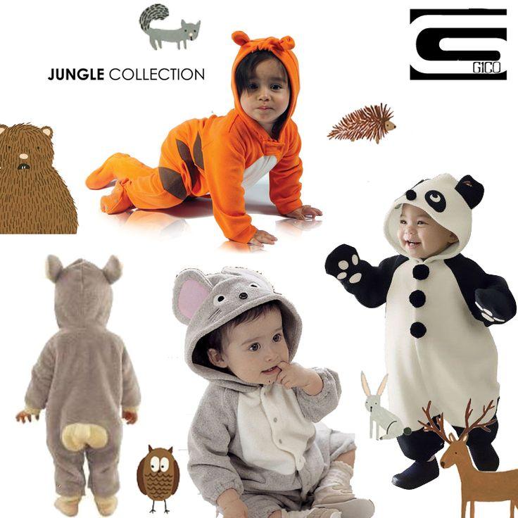 #pajamas  #Gico #baby #jungla #collection