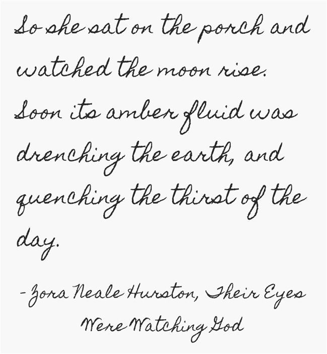 Zora Neale Hurston, Their Eyes Were Watching God