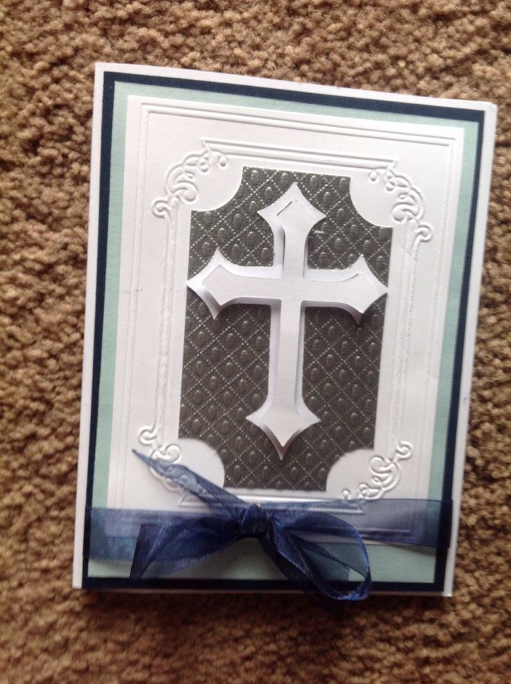 First communion cards for grandson