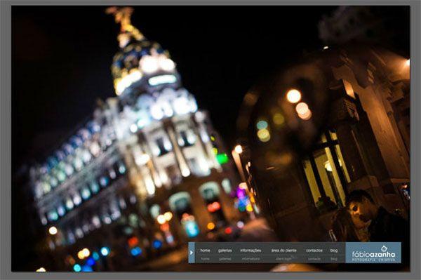 Fabio-Azanha-Photo-Portfolio Fábio Azanha webpage chosen as an example of a great photography website by Designrfix