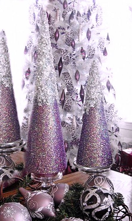 Shimmering Lavender Christmas Merry Christmas form ~AmyLH~