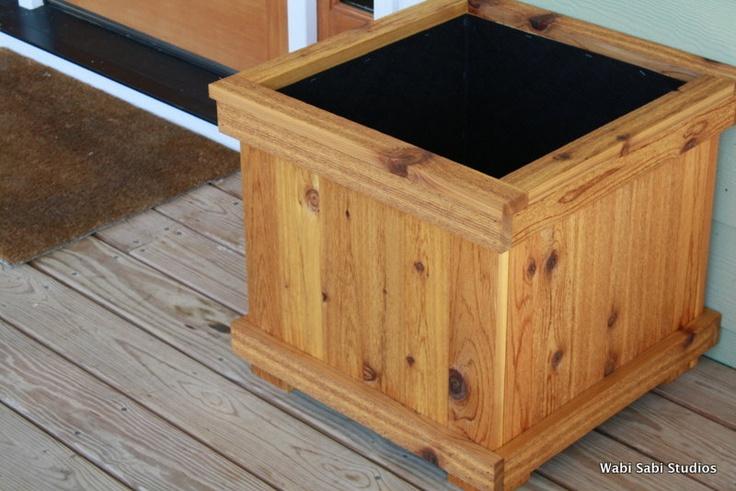 Craftsman style flower box...