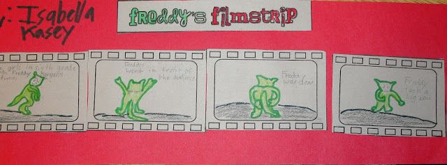 """""""film strips"""" for sequencing events"""