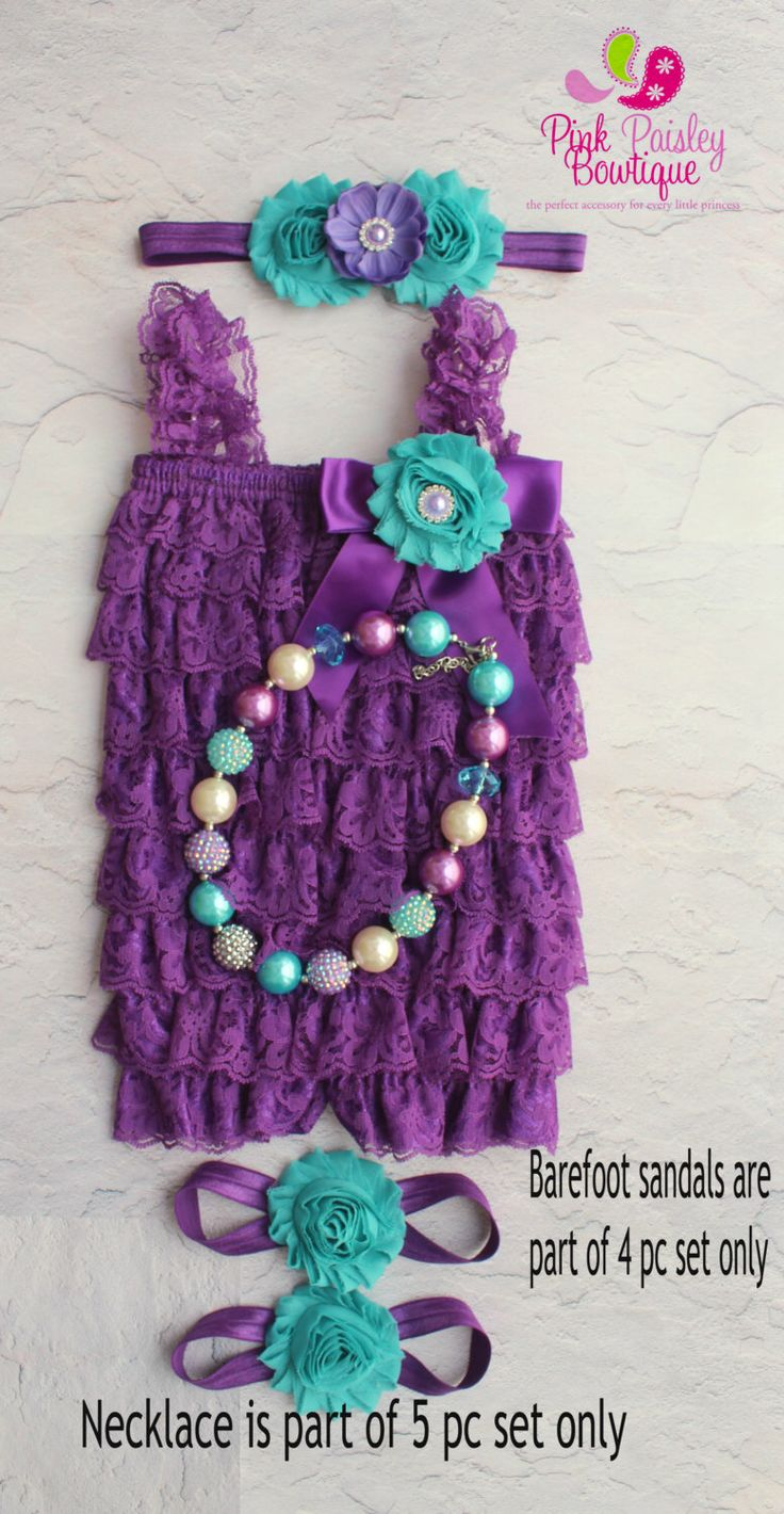 A personal favorite from my Etsy shop https://www.etsy.com/listing/183012369/purple-romper-and-headband-baby-girl-1stPurple romper and headband, Baby girl 1st birthday outfit, Under the Sea Birthday, Baby romper, Cake Smash Outfit, Birthday Dress Photo prop