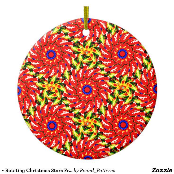 ~ Rotating Christmas Stars Fractal ~