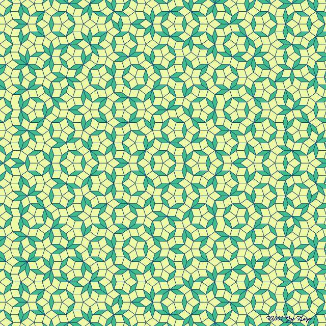 Penrose Rhomb tilings by Jos Leys                                                                                                                                                                                 More
