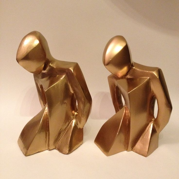 Golden Ballerinas (32cm tall)