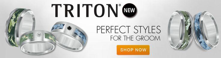 Our New Triton Collection is Great for Men!