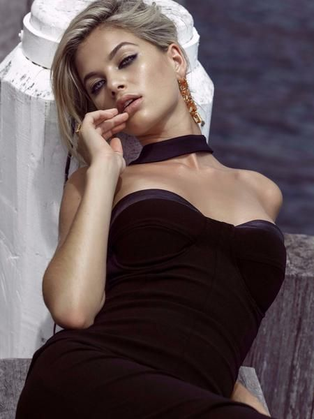 Claire Dress in Black by DUKE n co
