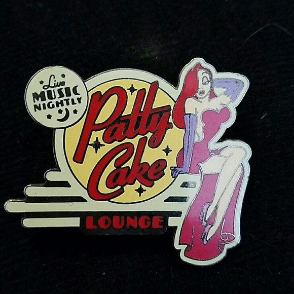 Disney Other - Disney Jessica Rabbit patty cake pin