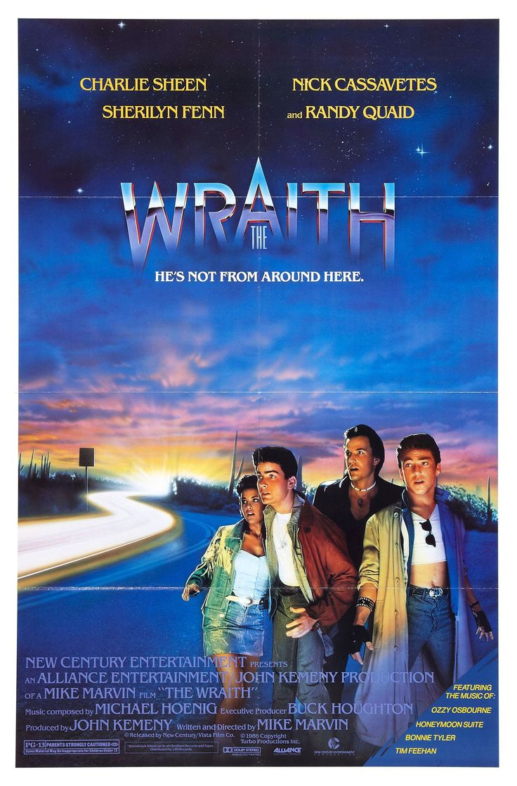 The wraith 1986 one of my favorite childhood movies when i first fell