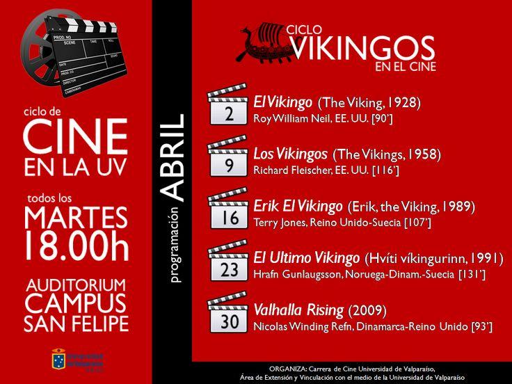 Afiche ciclo de cine Abril
