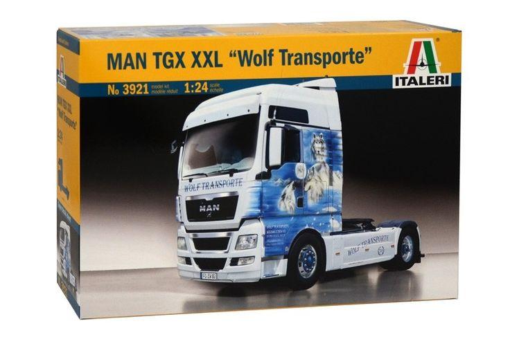 """1:24 MAN TGX XXL """"WOLF TRANSPORT"""" - Modelling   Hobbyland"""