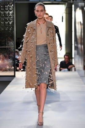 Burberry Feather Top Global Fashion Week Ss19 Trends 2019 Ss