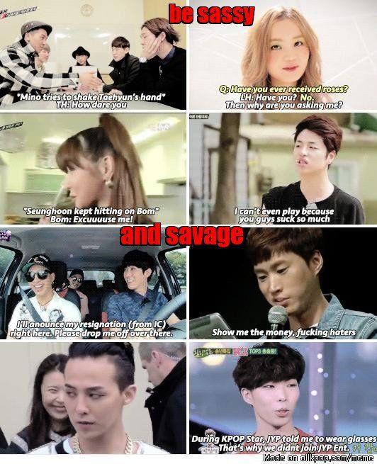 how to be a YG artist (not mine by maoolina) | allkpop Meme Center