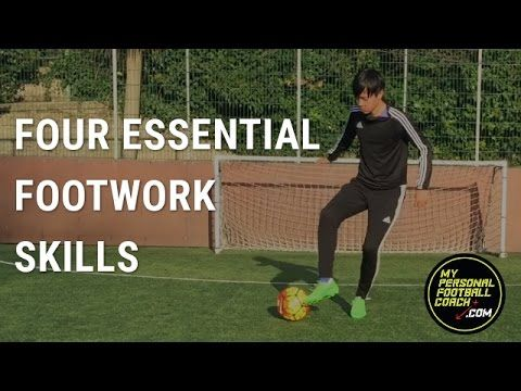 Soccer Ball Mastery Warmup - Four Essential Footwork Skills - YouTube