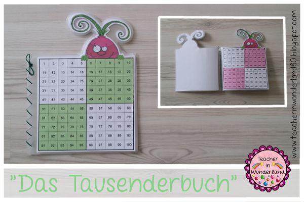 """Teacher In Wonderland: """"Mompitziges Tausenderbuch"""""""