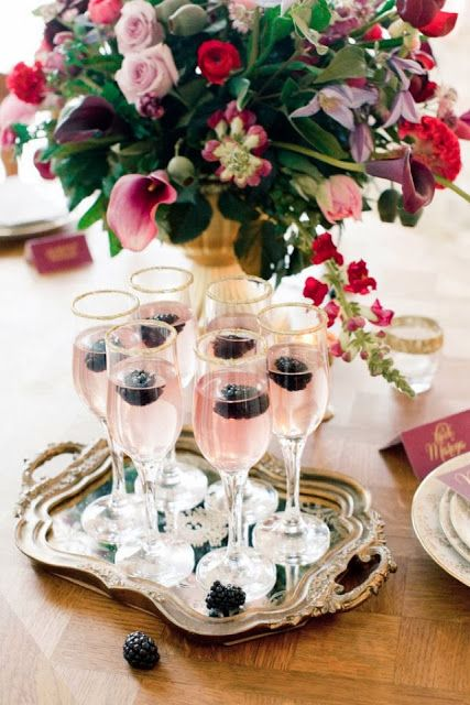 Holiday inspiration : Prosecco Cocktail
