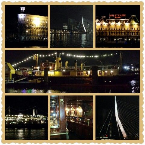 Feesten op een rivierboot. Prachtig uitzicht skylune Rotterdam. http://www.wewanttoparty.nl