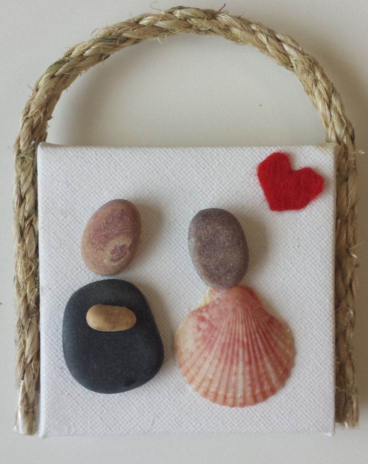 17+ ideas about Beach Rock Art on Pinterest