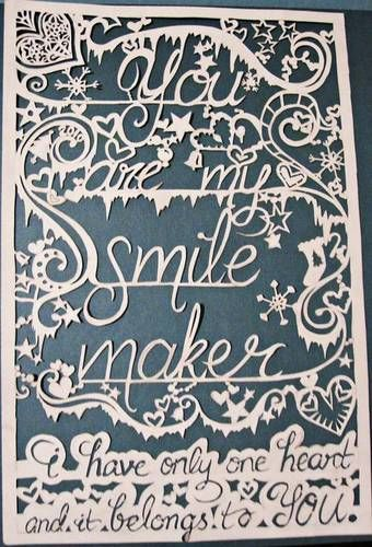 56 best design cut paper quotes images on pinterest for Beautiful paper cutting art