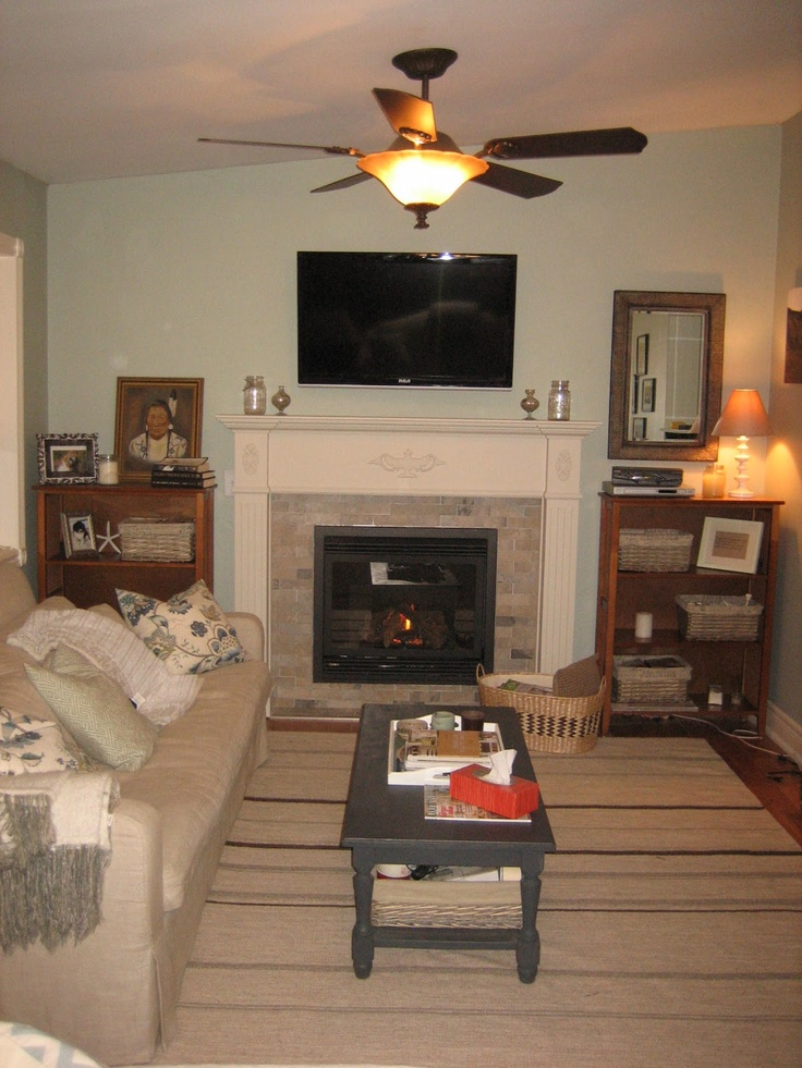 34 best living room ideas images on pinterest gas - Does a living room need a fireplace ...