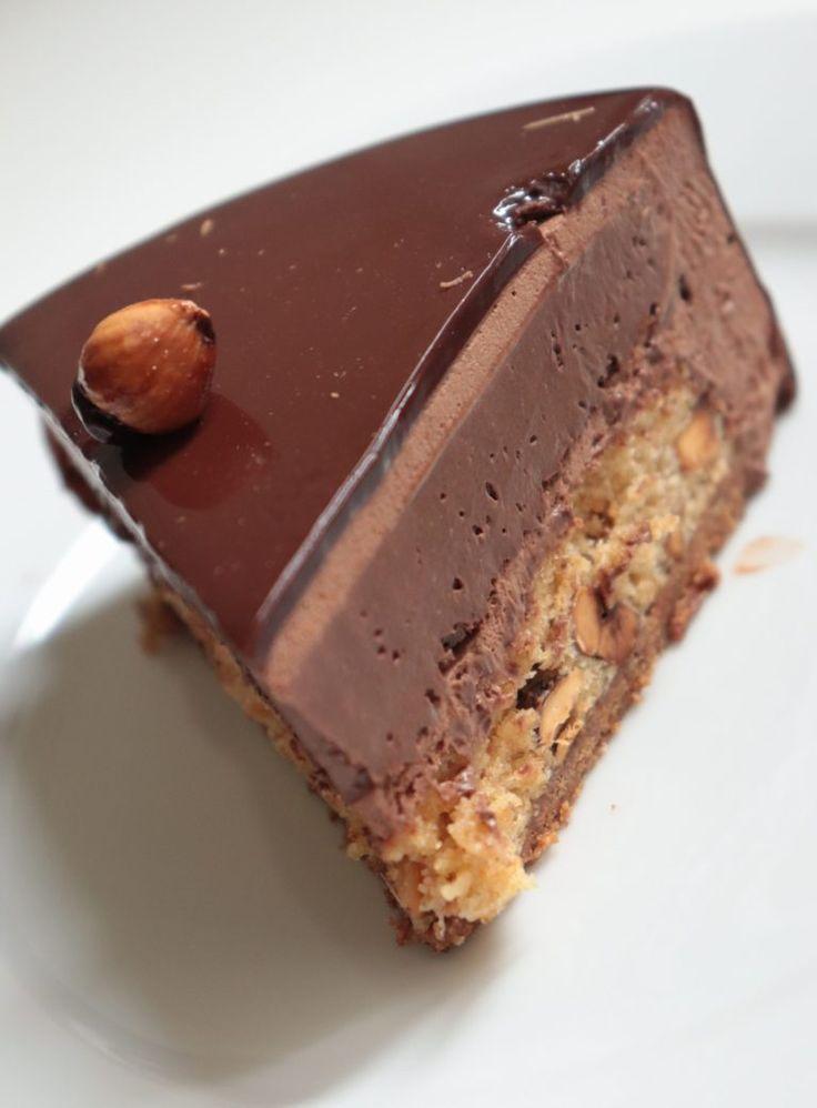 Königliche Schokolade (Trianon) – Entremet Rezept Olivia Patisse   – Treat Food