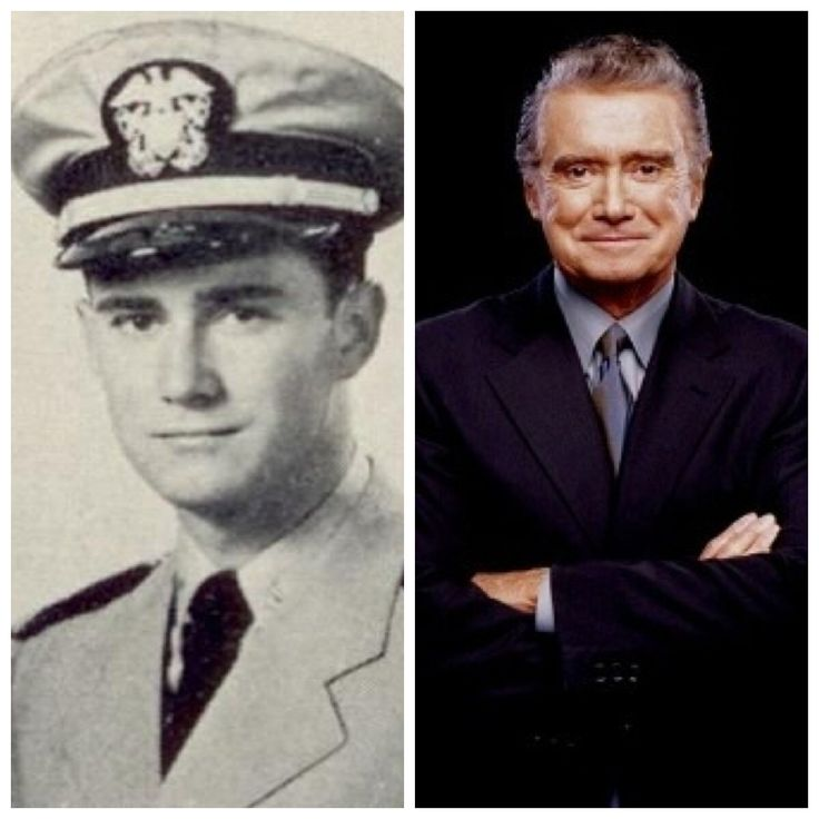 Regis Francis Xavier Philbin (born August 25, 1931) is an American media personality, actor and singer, known for hosting talk and game shows. He served in the United States Navy as a supply officer.