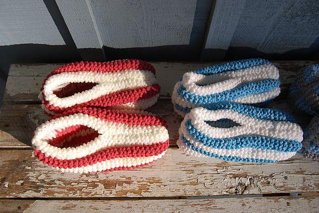 Free Crochet Phentex Slipper Pattern : How to sew Phentex slippers. Knitting Pinterest Sew ...