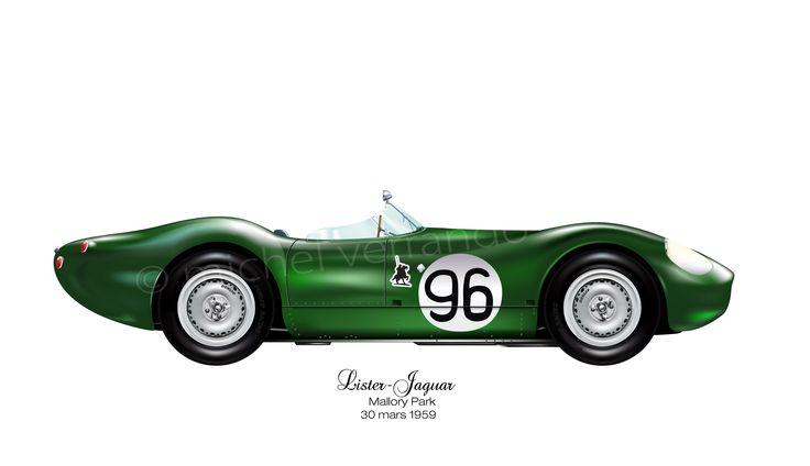 "Lister-jaguar ""flat iron"" - 1959"