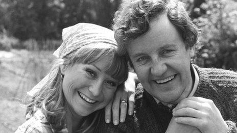 "Richard Briers ""Good Neighbors / The Good Life's""  Tom Good, passed Feb. 17, how we will miss that smile"