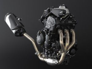 The Tiger 800's liquid-cooled, 799cc in-line triple makes a claimed 94 horsepower and 58 lb-ft of torque.  http://www.ridermagazine.com/top-stories/2015-triumph-tiger-800-xrx-and-tiger-800-xcx-first-ride-review.htm/