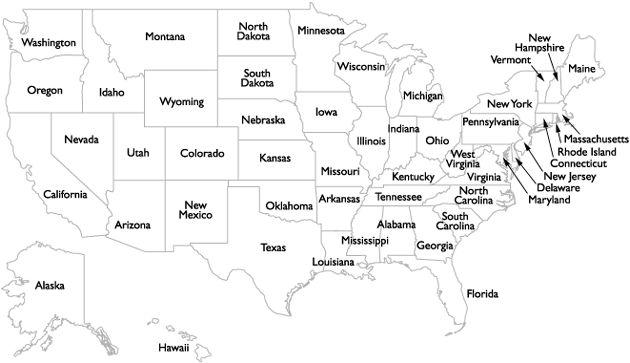 Melhores Ideias De Usa States Names No Pinterest Mapa Dos - Mapa usa states