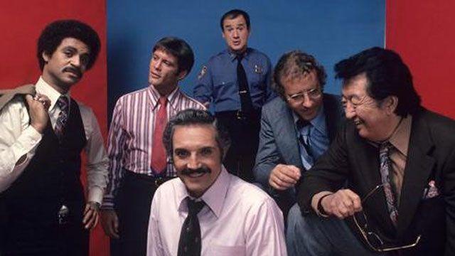 The cast of Barney Miller