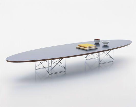 Table basse ETR (Elliptical Table Rod Base) par Charles & Ray Eames