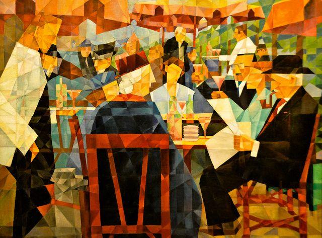 Paris Museum Cafe
