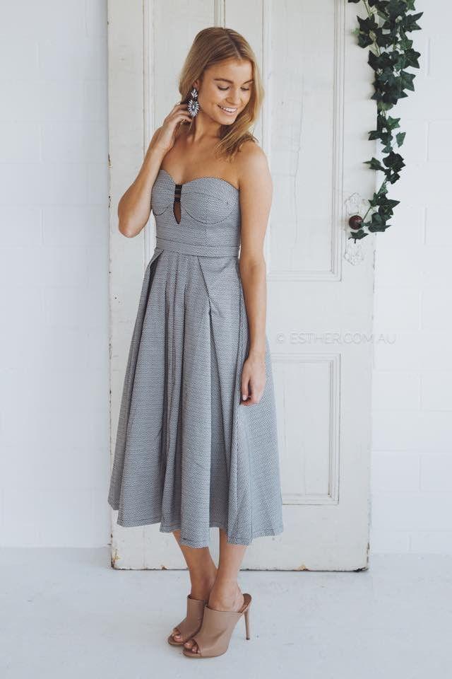 jodie dress - grey
