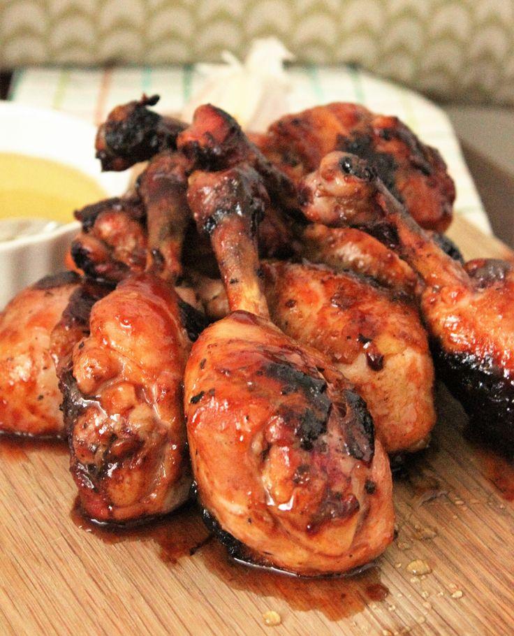 Honey Garlic Chicken Lollipops